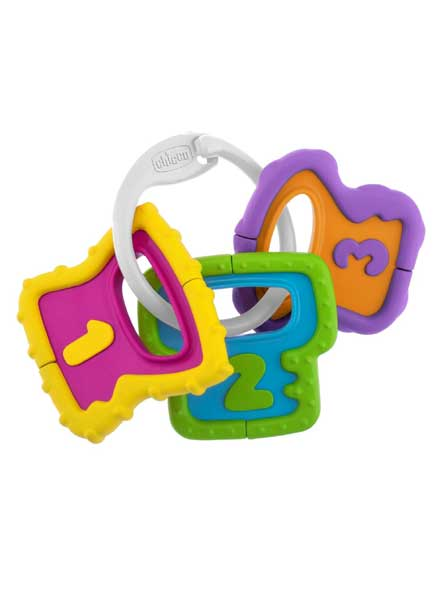 Rattle Baby Senses Easy Grasp Keys
