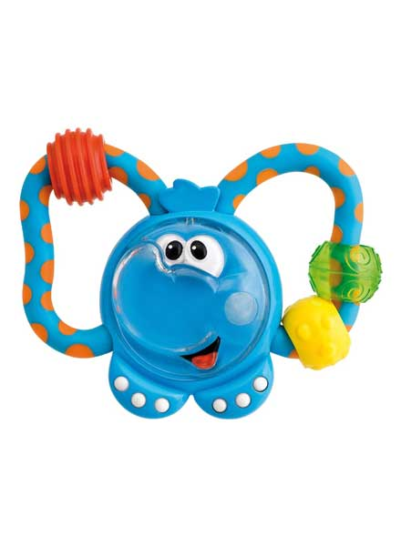Fun Teething Rattle Elephant
