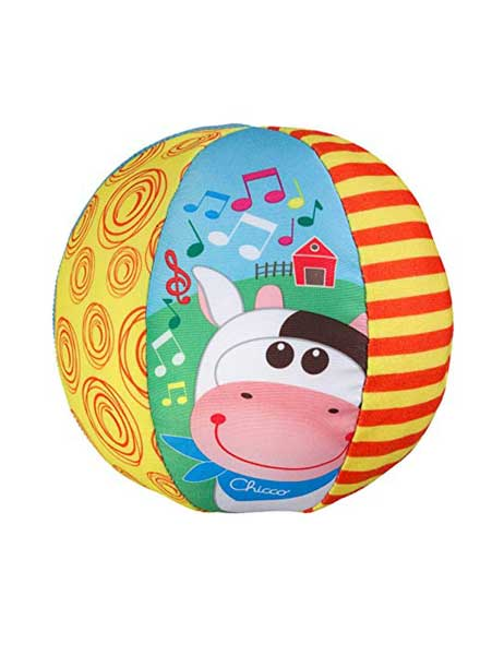 Soft Musical Ball Toy - 48 cm