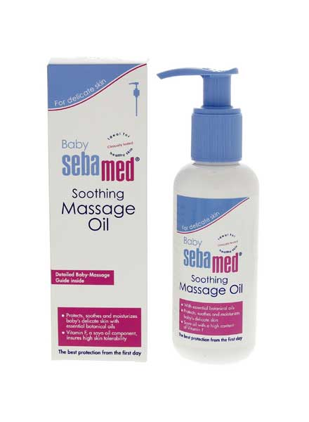 Sebamed Soothing Baby Massage Oil - 150ml