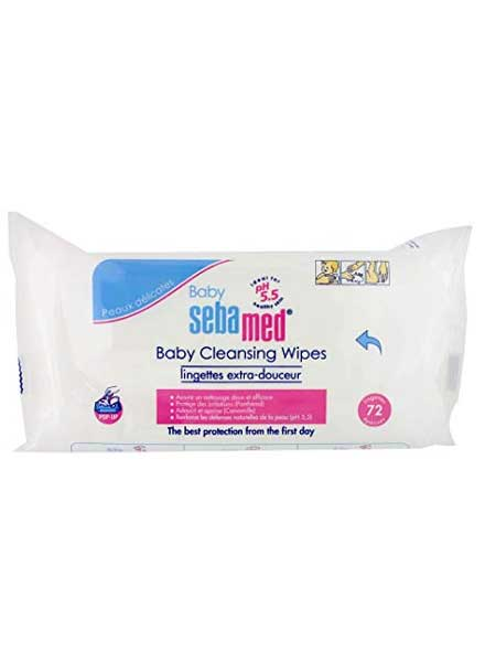 Sebamed Baby Cleansing Wipes Extra Sensitive - 72 Sheets