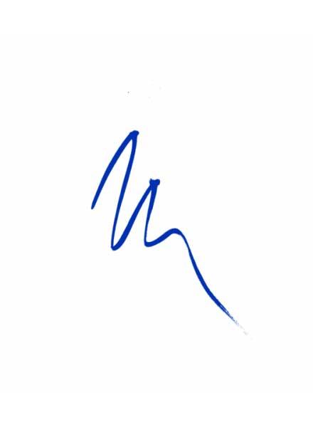 All-Matte Eyeliner (Matte Blue)