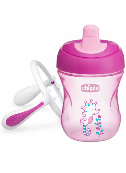 Chicco Training Cup With Semi Soft Spout - 200ml