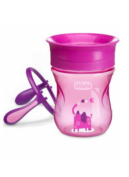 Chicco Perfect Cup Pink & Purple - 200ml