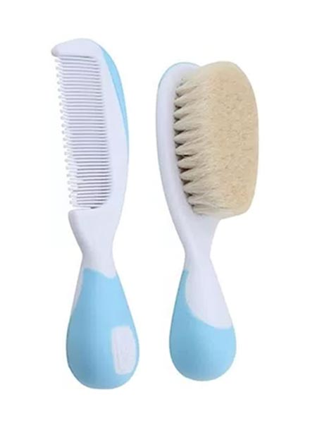 Chicco Brush And Comb Set - Light Blue