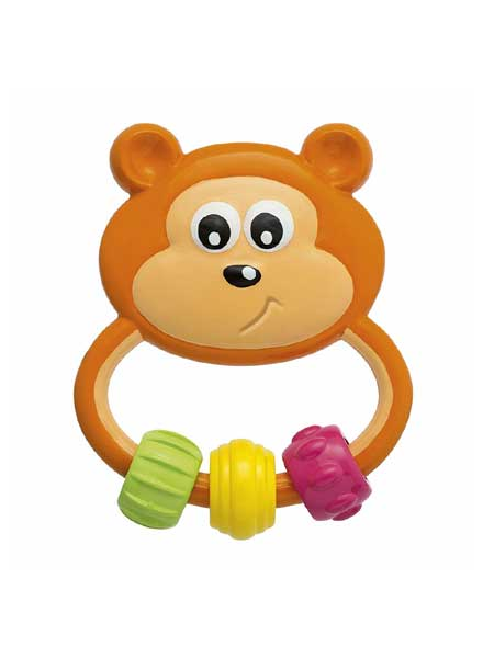 Rattle Baby Senses Easy Grasp Bear