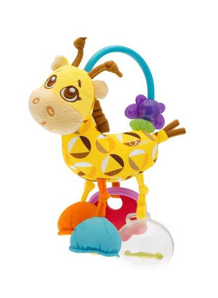 Fun Teething Rattle Giraffe