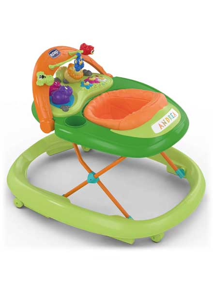 Walky Talky Baby Walker Green Wave