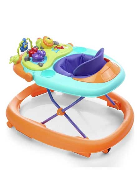 Walky Talky Baby Walker Orange Wave