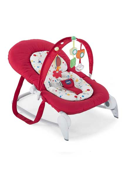 Hoopla Baby Bouncer - Red Berry