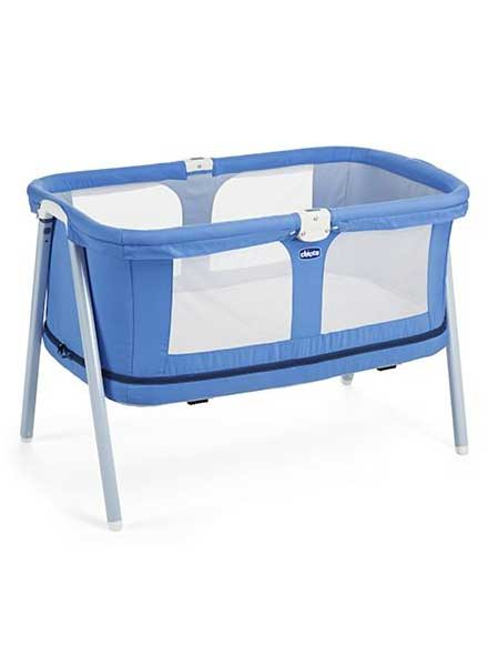 Lullago Zip Travel Crib Indigo